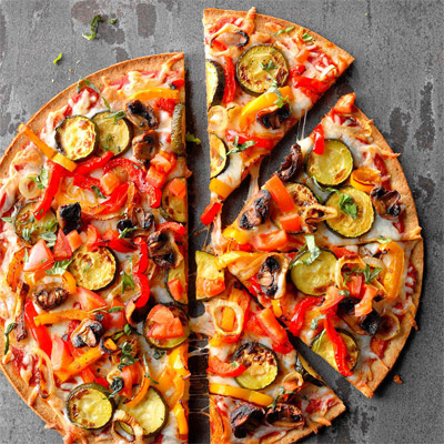 pizza-vegetariana