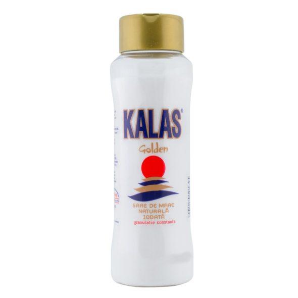 Sare de mare iodata Kalas Golden 500g